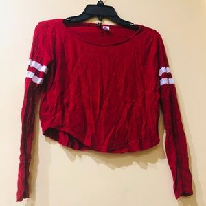 Long sleeve Crop Top H&M